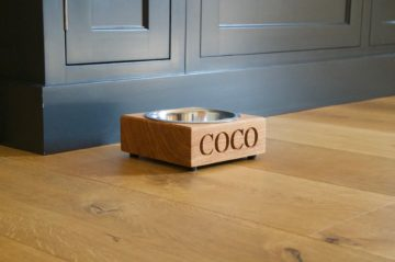 Personalised Wooden Pet Bowls