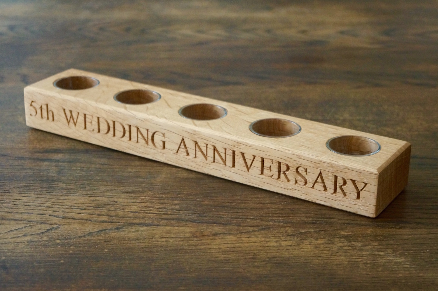 5th Wedding Anniversary Wooden Gifts: Stunning Personalised Wooden Gifts