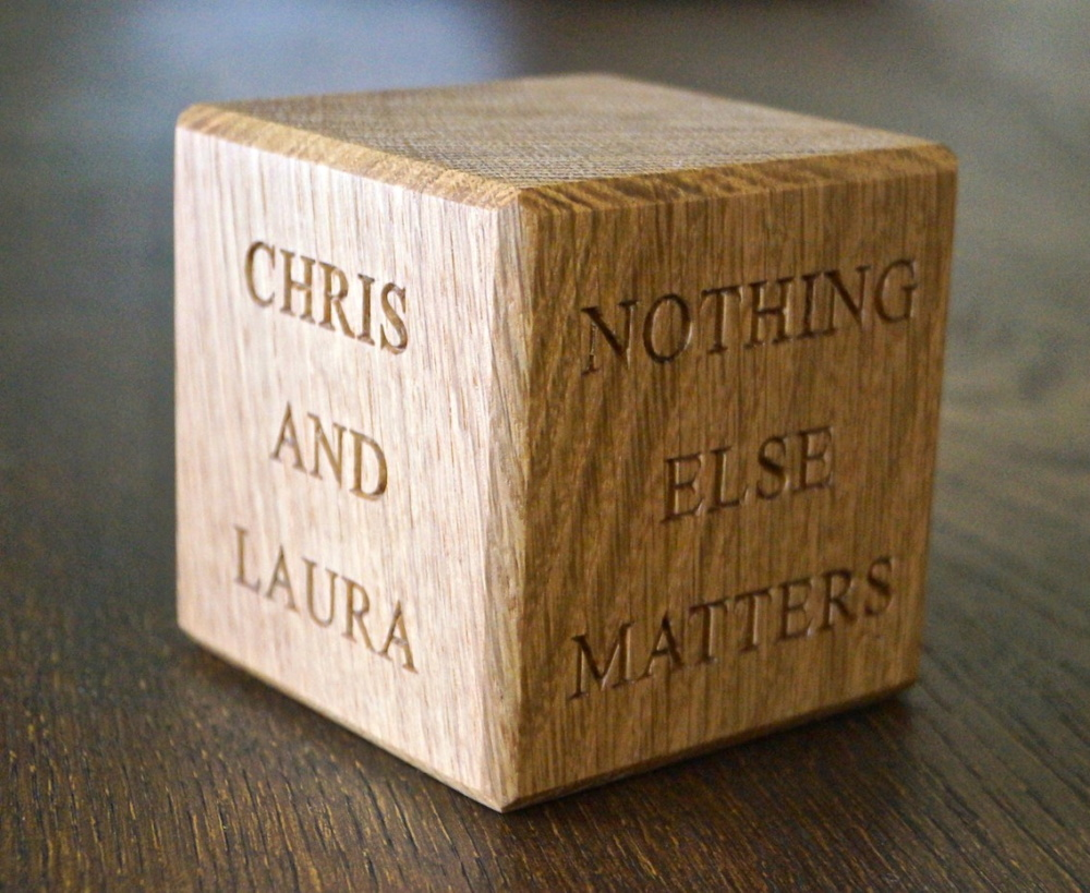 Gift Ideas For 5th Wedding Anniversary For Him : 5th wedding anniversary blocks: