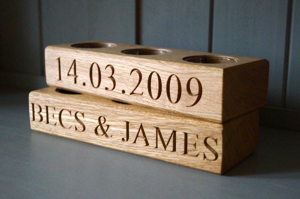 5th Wedding Anniversary Gift Ideas for Her from MakeMeSomethingSpecial ...