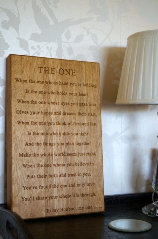 Engraved Wedding Gifts from MakeMeSomethingSpecial.com