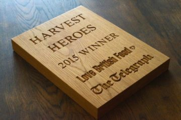 Engraved Wooden Awards