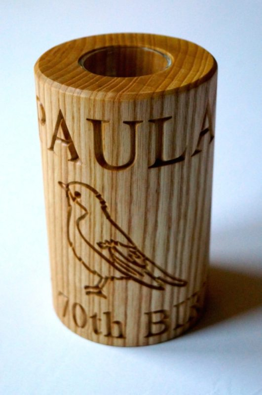 engraved-wooden-tealight-candle-holders-makemesomethingspecial.co.uk