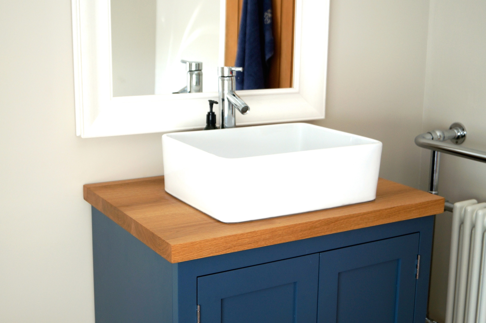 Awesome Bespoke Bathroom Sink Cabinets Constructed From Pure Oak Download Free Architecture Designs Embacsunscenecom