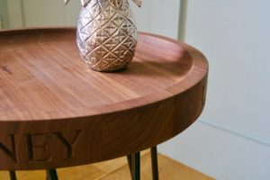 handmade-wooden-round-side-table