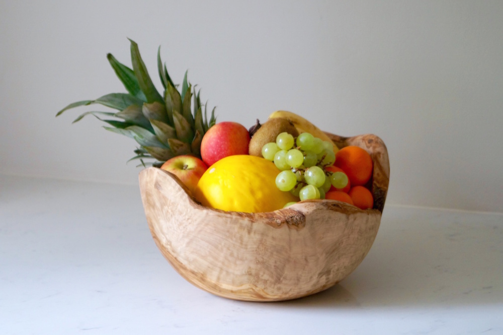 large-olive-wood-fruit-dish-makemesomethingspecial.com